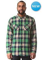 NEFF Scott Flannel L/S Shirt green