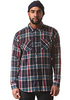 NEFF Scott Flannel L/S Shirt navy