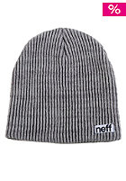 NEFF Slashy Beanie black charcoal