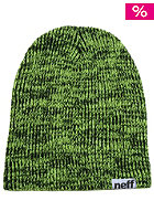 NEFF Slashy Beanie black yellow