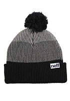 NEFF Snappy Beanie black grey grey