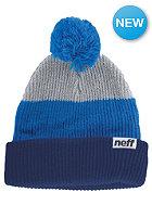 NEFF Snappy Beanie navy blue grey