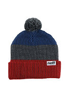 NEFF Snappy Beanie red/grey/navy