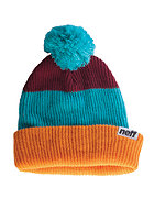 NEFF Snappy orange/teal/maroon