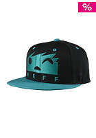 Square Cap black/teal
