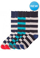 NEFF Striper 3pack Socks stripe