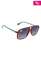 NEFF Sunglasses Uno Red Red