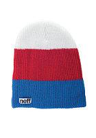 NEFF Trio Beanie blue/red/white