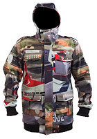 NEFF Warplanes Softshell Snow Jacket grey