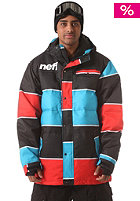 NEFF Winston Puffy Jacket blue red