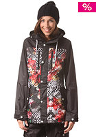 NEFF Womens Falcon Snow Jacket snake life