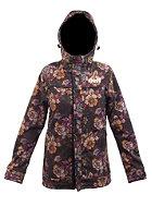 NEFF Womens Lush Softshell Snow Jacket acid blossom