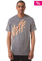 NEFF Z Morris Prem S/S T-Shirt charcoal heather