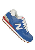 NEW BALANCE 574 Shoe blue/ red