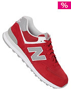 NEW BALANCE 574 Shoe red