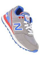 NEW BALANCE Kids KL574 jgp grey/blue