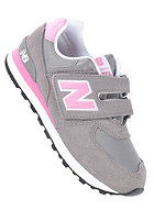 NEW BALANCE Kids KV574 M grey/pink