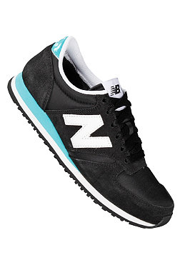 NEW BALANCE Running 420 Suede/Nylon black/turquoise