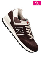 NEW BALANCE Running 574 Suede/Nylon brown/beige