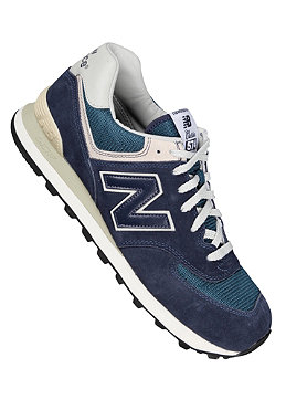 NEW BALANCE Running 574 Suede/Mesh navy