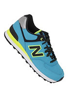 NEW BALANCE Womens 574 Shoe blue