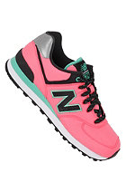 NEW BALANCE Womens 574 Shoe pink