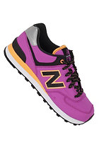 NEW BALANCE Womens 574 Shoe purple