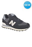 NEW BALANCE Womens WL574 black/white