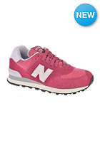 NEW BALANCE Womens WL574 pbu burgundy