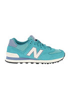 NEW BALANCE Womens WL574 pgw green/white