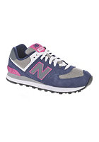 NEW BALANCE Womens WL574 sbs black/purple