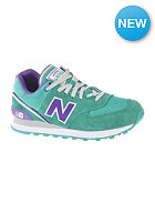 NEW BALANCE Womens WL574 sjt green