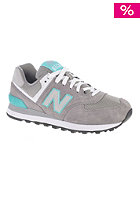 Womens WL574 sng grey/blue