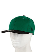 NEW ERA 2 Tone Snapback Cap kelly green/black 