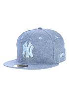 NEW ERA All Over Chambrey New York Yankees Fitted Cap blue sky