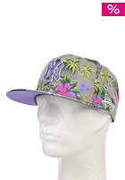 NEW ERA All Over Island 950 New York Yankees Snapback Cap graphite / purple