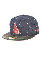 NEW ERA Americana Mesh Los Angeles Dodgers Fitted Cap navy/woodland camo