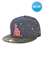NEW ERA Americana Mesh Los Angeles Dodgers Fitted Cap navy/woodland camo
