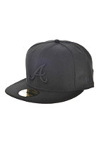 NEW ERA Atlanta Braves Fitted Cap black/black