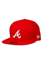 NEW ERA Atlanta Braves League Basic Cap scarlet/white