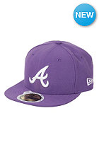NEW ERA Atlanta Braves League Cap v purp/wht