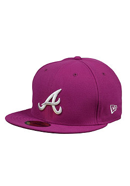 NEW ERA Atlanta Braves Seas Cont MLB Cap sparkling grape
