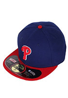 NEW ERA Authentic Philadelphia Phillies Alternate Fitted Cap blue/red