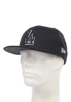 NEW ERA Basic LA Dodgers Fitted Cap black/white