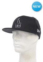 NEW ERA Basic LA Dodgers Fitted Cap black/white