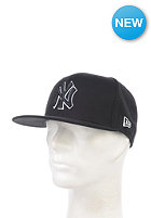 NEW ERA Basic New York Yankees Fitted Cap black/white