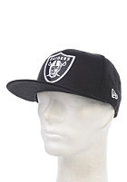 NEW ERA Basic Oakland Raiders Fitted Cap black/white