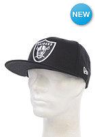 NEW ERA Basic Oakland Raiders Fitted Cap black/white