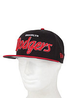 NEW ERA Brooklyn Dodgers Team Script Cap blk/sca/whi