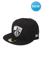 NEW ERA Brooklyn Nets NBA Seasonal Basic Fitted Cap black/team